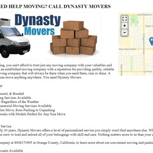 Dynasty Movers Cover Photo