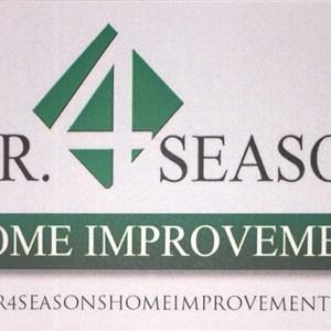 J.r 4 Seasons Home Improvements Logo