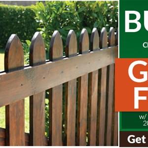 Wood Fence Panel Company Logo