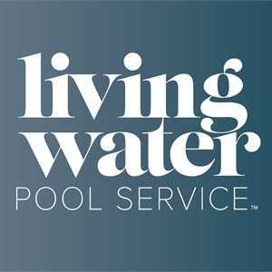 Living Water Pool Service Logo