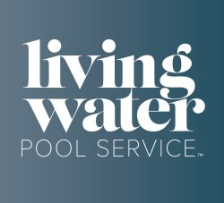 Living Water Pool Service Logo