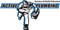 Active Plumbing Rooter & Drain Service Logo