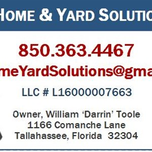 D & G Home & Yard Solutions, LLC Logo