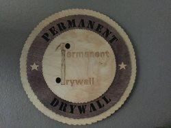 Permanent Drywall LLC Logo