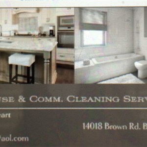 D & D House & Commercial Cleaning, LLC Logo