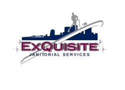 Exquisite Janitorial Services Logo