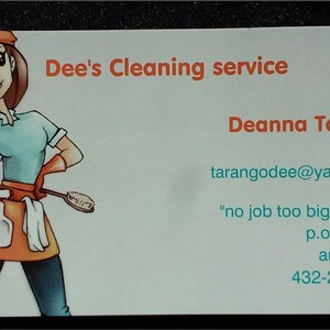Dees Cleaning Service Cover Photo