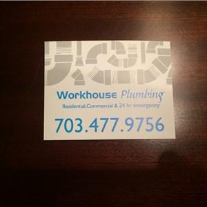 Workhouse Plumbing, Llc™ Logo