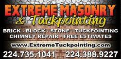 Extreme Masonry & Tuckpointing Logo