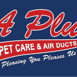 A Plus Carpet and Air Ducts, A Plus Auto Division Logo