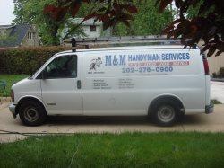 M & M Handyman Service Logo