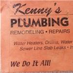 Kennys Plumbing Logo
