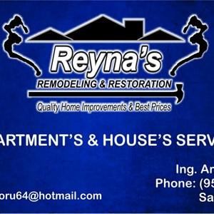 Reynas Remodeling And Restoration Logo