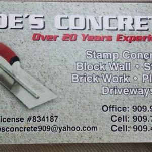 Moes Concrete Logo