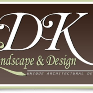D K Landscape & Design Logo