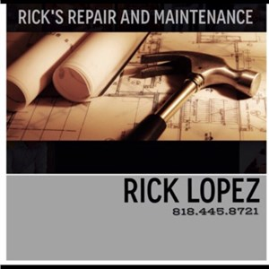Ricks Repair & Maintenance Cover Photo