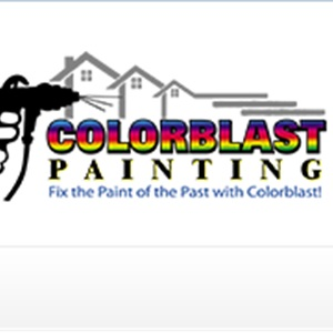 Color Blast Painting  Logo