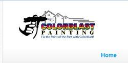 Color Blast Painting  Logo