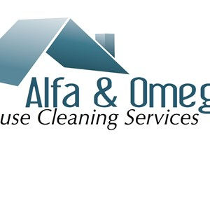 Alfa & Omega House Cleaning Services Logo