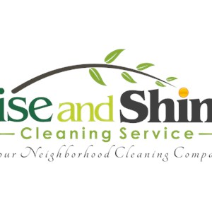 Rise and Shine Cleaning Service Logo
