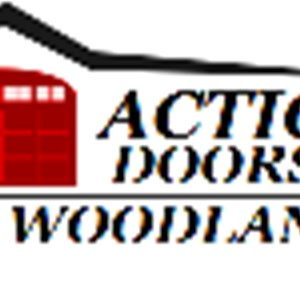 Action Doors the Woodlands Logo