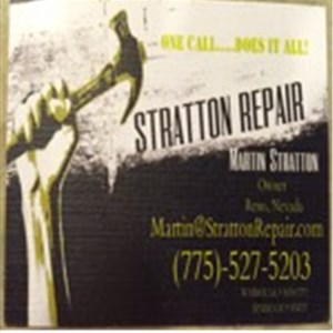 Stratton Repair Cover Photo