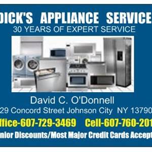 Dicks Appliance Service Logo