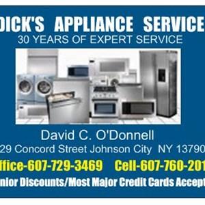 Dicks Appliance Service Logo