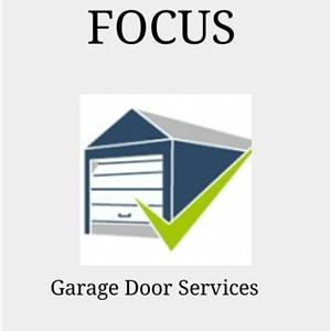 Focus Garage Door Service Logo