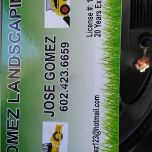 Gomez Landscaping Inc. Logo