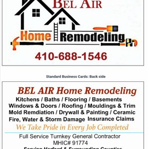 Bel Air Home Remodeling Cover Photo