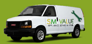 S M Value Appliance Service Inc DBA SM Value HVAC Logo
