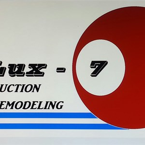 Dlux 7 Construction and Remodeling Logo