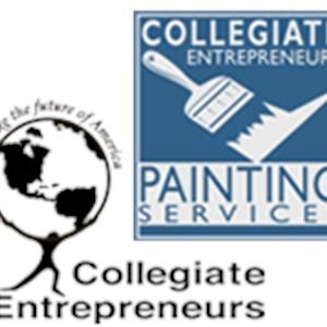 Collegiate Entrepreneur Painters Logo