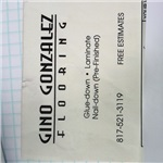 Gino Gonzalez Flooring Logo