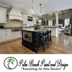 Palm Beach Paint And Design Logo