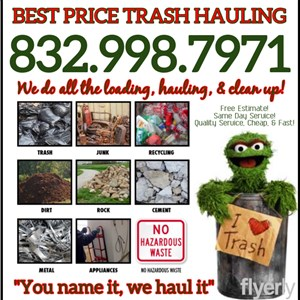 Best Price Trash Hauling Cover Photo