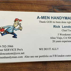 A-men Handyman Logo