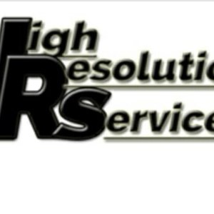 High Resolution Services Logo