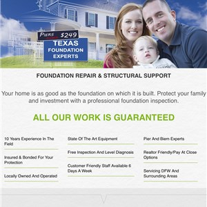 Dallas Fort Worth Foundation Repair llc Logo