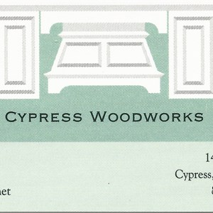 Cypress Woodworks Cover Photo