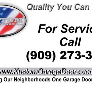 Kustom Garage Doorz Logo