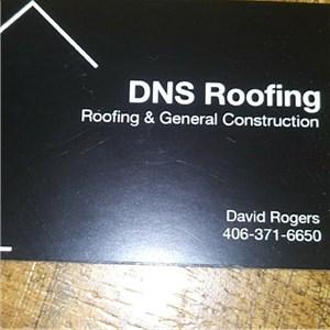 D-n-s Roofing & general const Logo