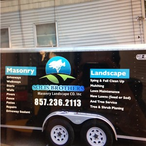 Solis Brothers Masonry Landscaping & tree service Inc Logo