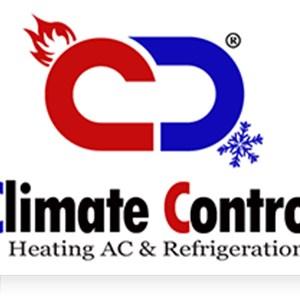 Climate Control Heating A/C & Refrigeration Logo
