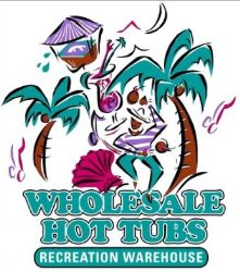 Wholesale Hot Tubs Recreation Warehouse Logo