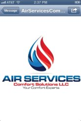 Air Services Comfort Solutions LLC Logo