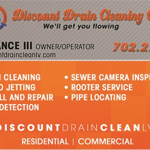 Discount Drain Cleaning Cover Photo