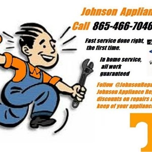 Johnson Appliance Repair Logo