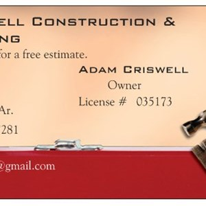 Criswell Construction & Painting Logo